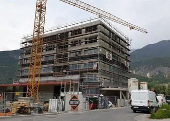 Rohbau Hauptgebäude Zirl 2 (Medium)